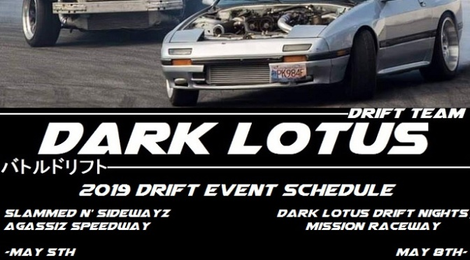 Drift Event Schedule